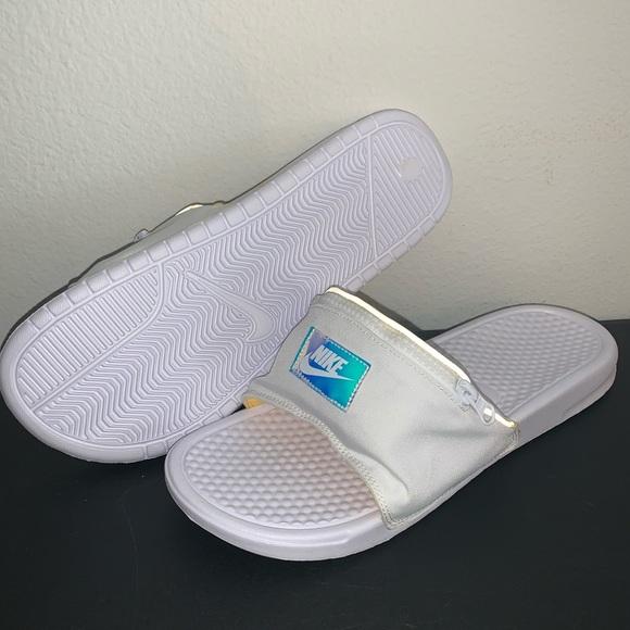 Requisitos genio coser  Nike Shoes | Mens Nike Benassi Jdi Fanny Pack Slides | Poshmark